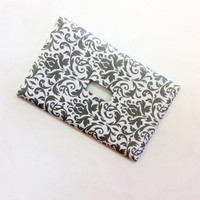 Damask Light Switch Cover, Damask Switchplate, Damask Home Decor