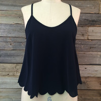 Ronalda Open Back Tank Top