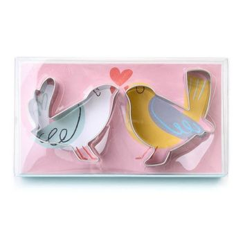 Love Birds Cookie Cutters in Gift Box