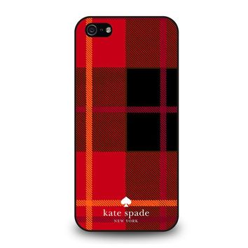 KATE SPADE NEW YORK RED iPhone 5 / 5S / SE Case