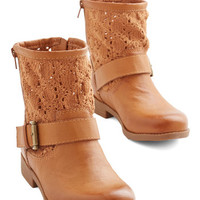 ModCloth Rustic Love the Way You Groove Bootie