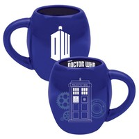 Doctor Who 18oz. Oval Mug