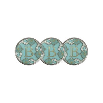 Letter Initial B Golf Ball Marker