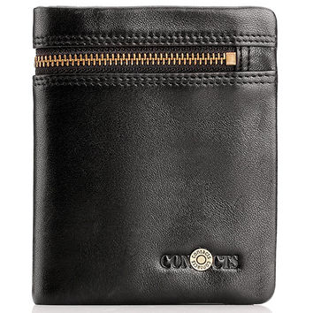 Leather Men Stylish Casual Wallet [9026422403]