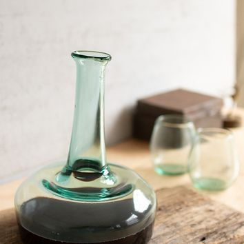 Recycled Glass Wine Decanter