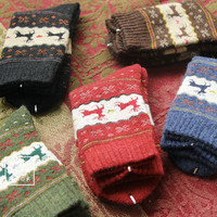 Lady winter wool socks