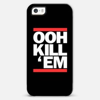 Ooh Kill Em Run DMC iPhone 5s case by Rex Lambo | Casetagram
