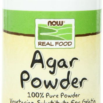 NOW Foods Agar Powder, Pure, 2 Ounce Bottle