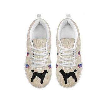 Poodle Art Print Running Shoes For Women-Free Shipping-For 24 Hours Only