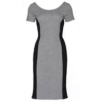 velvet - janka textured-jersey dress