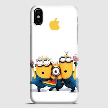 Minions Catching iPhone X Case