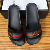Gucci Casual Fashion Women Slide Slipper