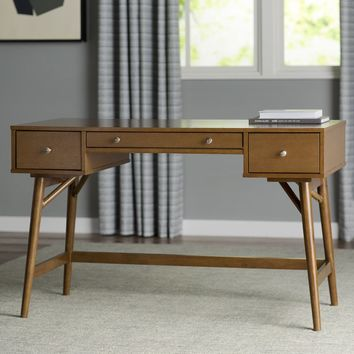 Lucille Palm Oasis Writing Desk