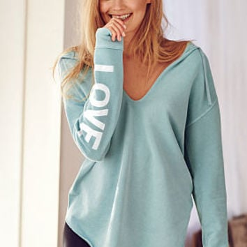 Oversized V-neck Tunic - Fleece - Victoria's Secret