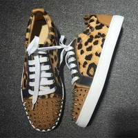 Cl Christian Louboutin Low Style #2041 Sneakers Fashion Shoes - Best Deal Online