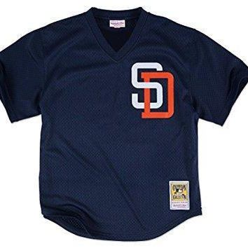 Tony Gwynn Navy San Diego Padres Authentic Mesh Batting Practice Jersey