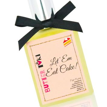LET 'EM EAT CAKE Fragrance Oil Based Perfume 1oz