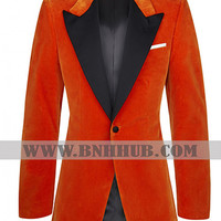 KINGSMAN ORANGE TUXEDO FOR WOMAN | Kingsman Orange Tuxedo for Womens