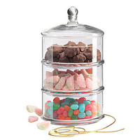One Kings Lane - Kitchen & More - 3-Tiered Canister, Small