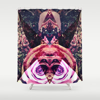 Triangulated Shower Curtain by DuckyB (Brandi)