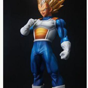 Original Banpresto model DRAGON BALL Z vegeta Figurine Super Saiyan SCultures big 6 special