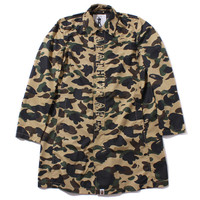 1ST CAMO RAIN COAT Yellow