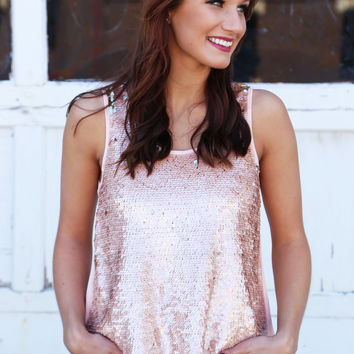Sequin Love Tank