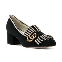 Gucci Crystal-embellished Loafers - Farfetch