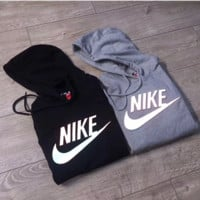 "3D Ray color ""NIKE"" Women Fashion Hooded Top Pullover Sweater Sweatshirt Hoodie"