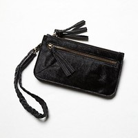 Free People Womens Washed Leather Wallet