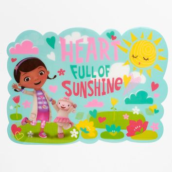 Disney's Doc McStuffins ''Heart Full of Sunshine'' Placemat by Jumping Beans