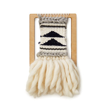 Mini Loom Weaving Kit | wall hanging, loom kit