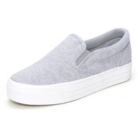 Canvas shoes Flats Slip On