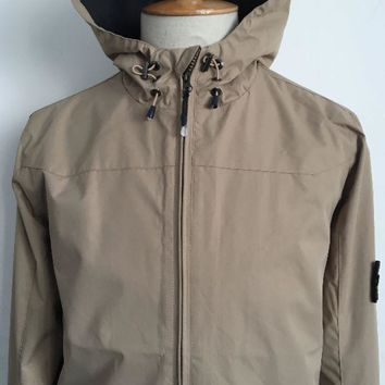 Discount stone island autumn and winter men's fashion clothes casual trench coat / khaki DCCK