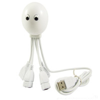 USB OCTOPUS HUB - WHITE