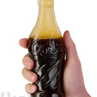 Giant Gummy Cola Bottle: 90 times larger than regular size ones!