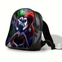 iOffer: Harley Quinn and The Joker Backpack Travel Bags School for sale