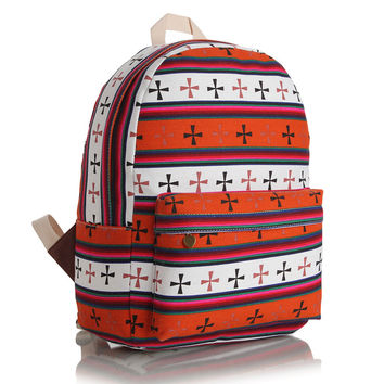 Comfort Back To School On Sale Hot Deal College Casual Vintage Stylish Canvas Backpack [8097636295]