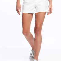 """Pixie Chino Shorts for Women (3 1/2"""") 