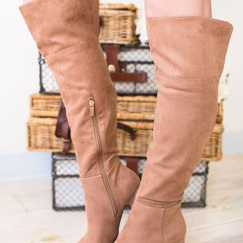 Go-Go Girl Suede Tall Boots