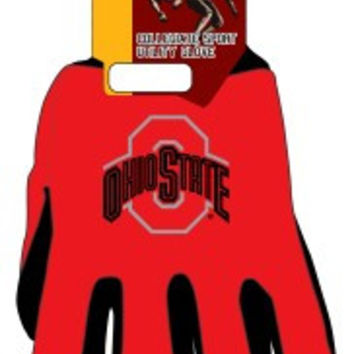 Ohio State Buckeyes Two Tone Gloves - Adult