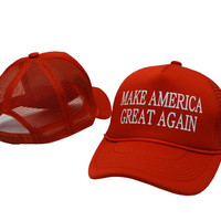 2016 Make America Great Again Print cap Donald Trump  Republican Adjustable hat for men and women's