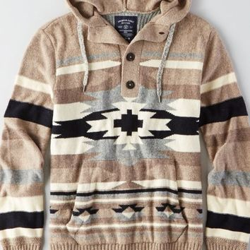 AEO Men's Baja Sweater (Hazelnut Marl)