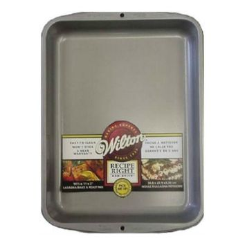 "Wilton® 2105-963 Recipe Right® Non-Stick Lasagna/Bake & Roast Pan, 14.5"" x 11"""