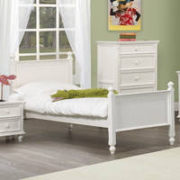 Homelegance Whimsy Kids' Panel Bed in White