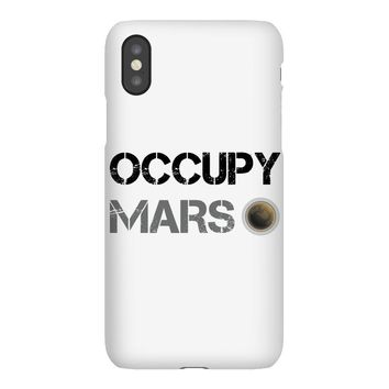 Occupy Mars Shirt iPhoneX