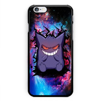 Pokemon Go Gengar Sinister Nebula Hard Plastic Case For iPhone 6s 6s plus, 7/7s