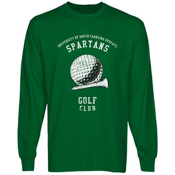 USC Upstate Spartans Sport Club Long Sleeve T-Shirt - Green