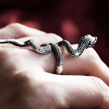 Serpent Sisters Serpent Wrap Ring
