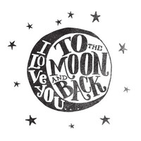 I LOVE YOU TO THE MOON AND BACK Art Print by Matthew Taylor Wilson | Society6